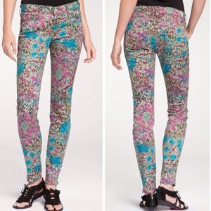 7 FOR ALL MANKIND Garden Party skinny jeans